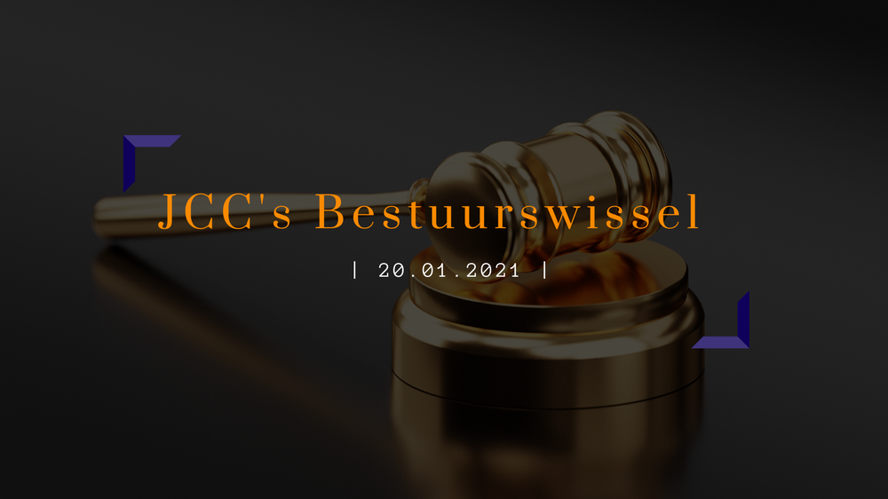 JCC spreekt zich uit | Algemene Ledenvergadering & Bestuurswissel