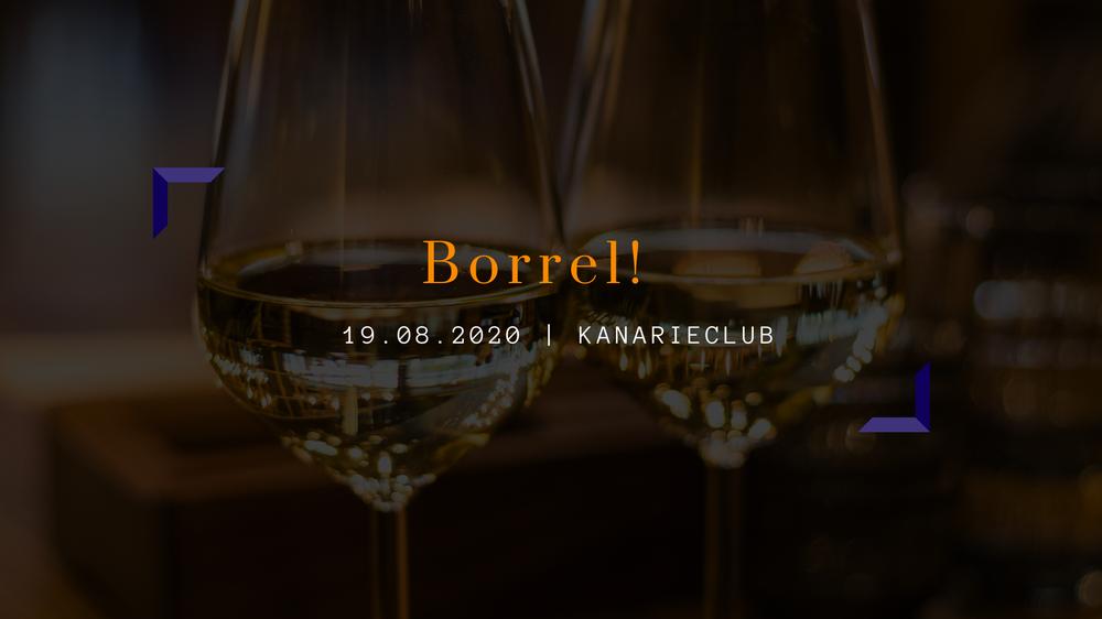 JCC's Zomerborrel | To be announced
