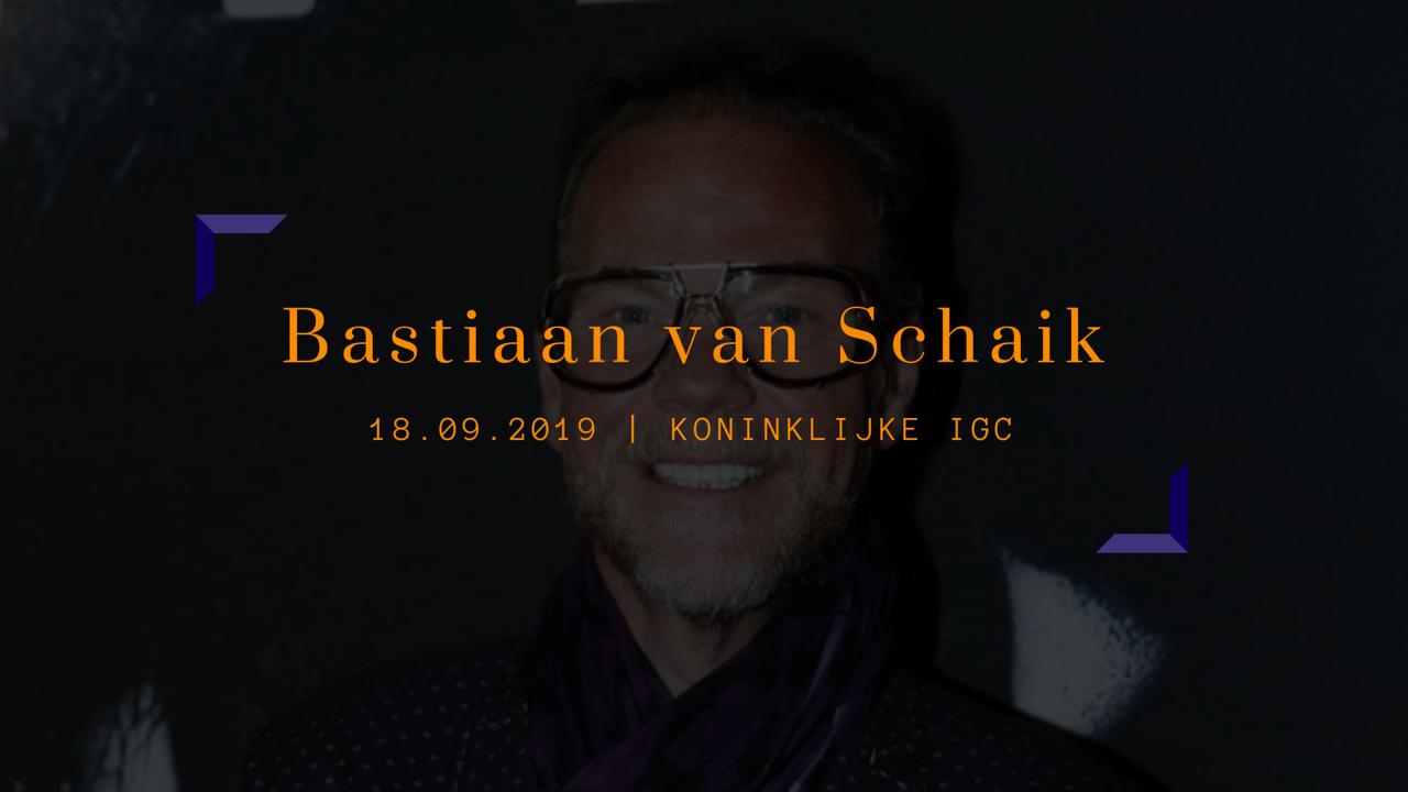 Inspiratiesessie: 'Smaak kun je niet kopen. Stijl wel.' door Bastiaan van Schaik.