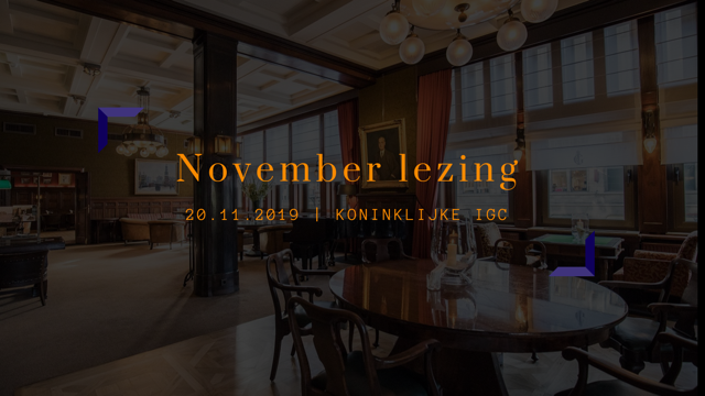 November Lezing
