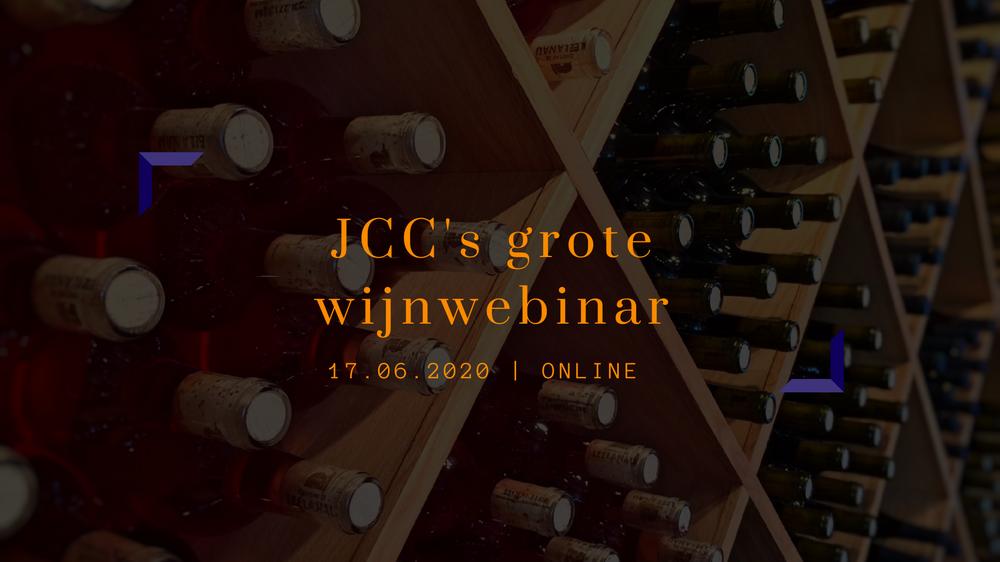 JCC's grote wijnwebinar | Jan-Jaap Altenburg en Nadien de Visser