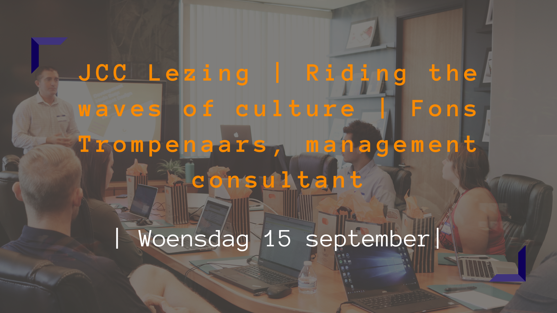 JCC lezing   Riding the waves of culture   Fons Trompenaars, management consultant