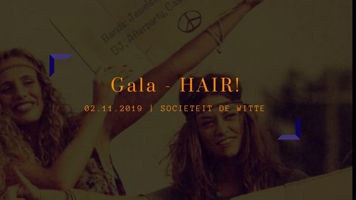 Gala Sociëteit de Witte: HAIR!