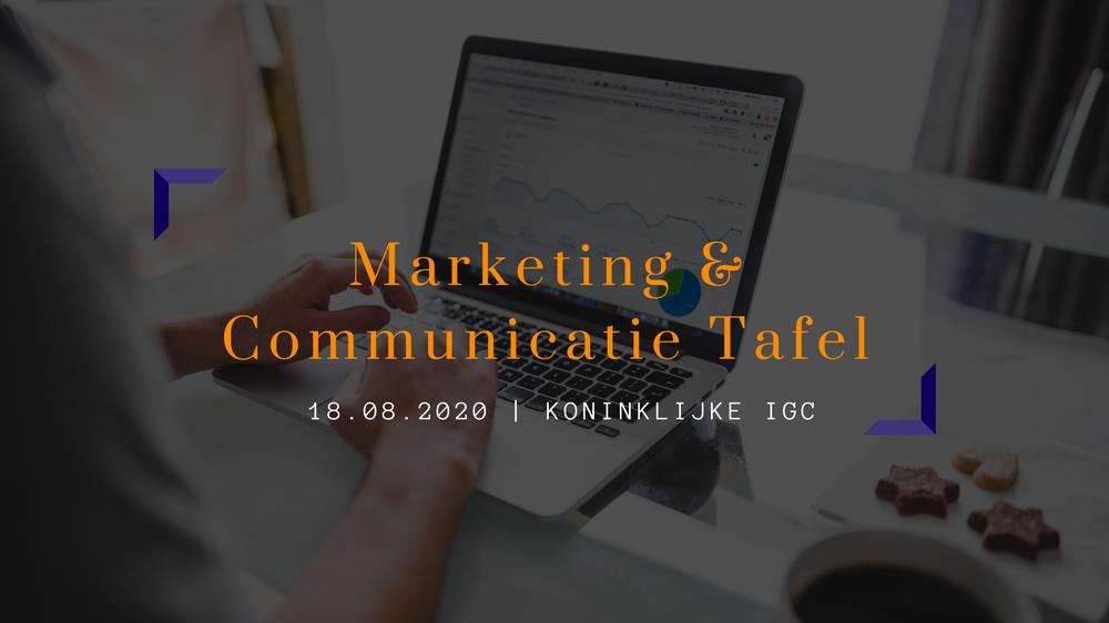 IGC Lezing | Marketing & Communicatie Tafel