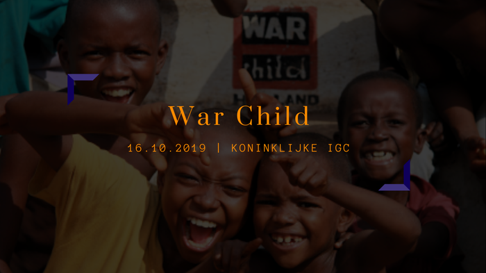 JCC x Rotary Blauw x Rotaract: Inspiratiesessie War Child
