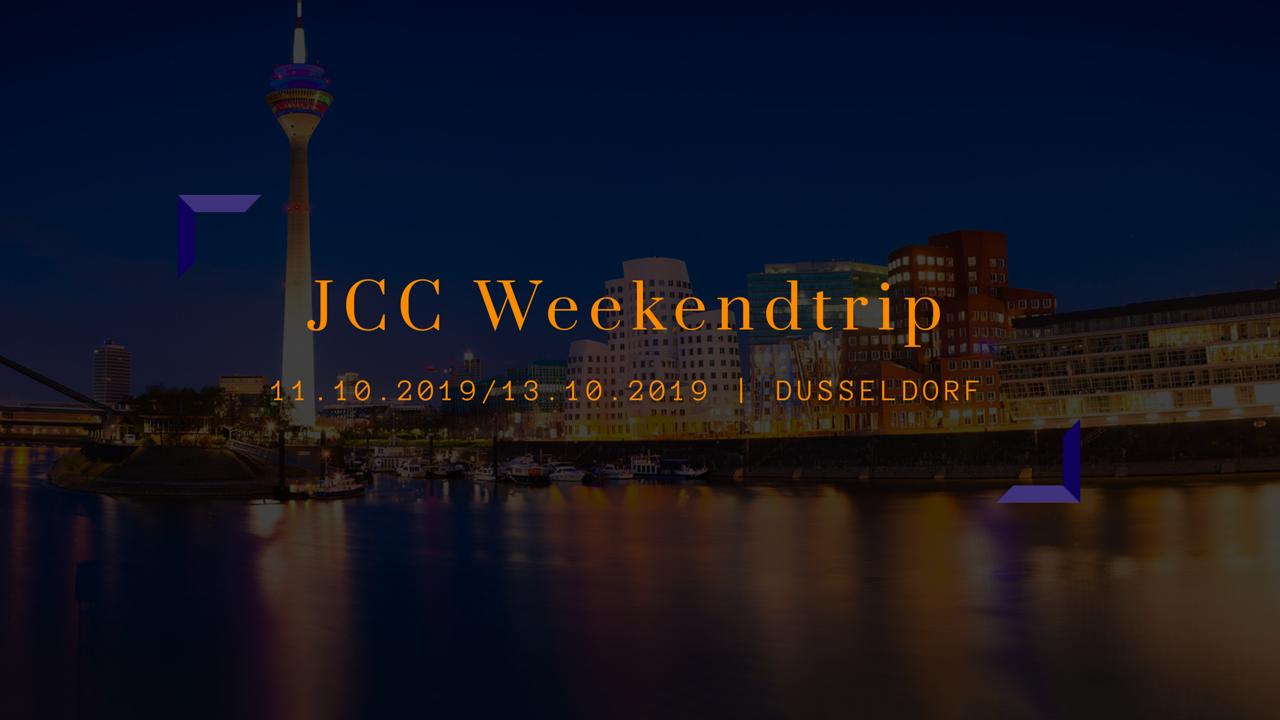 Dé JCC Weekendtrip: Düsseldorf