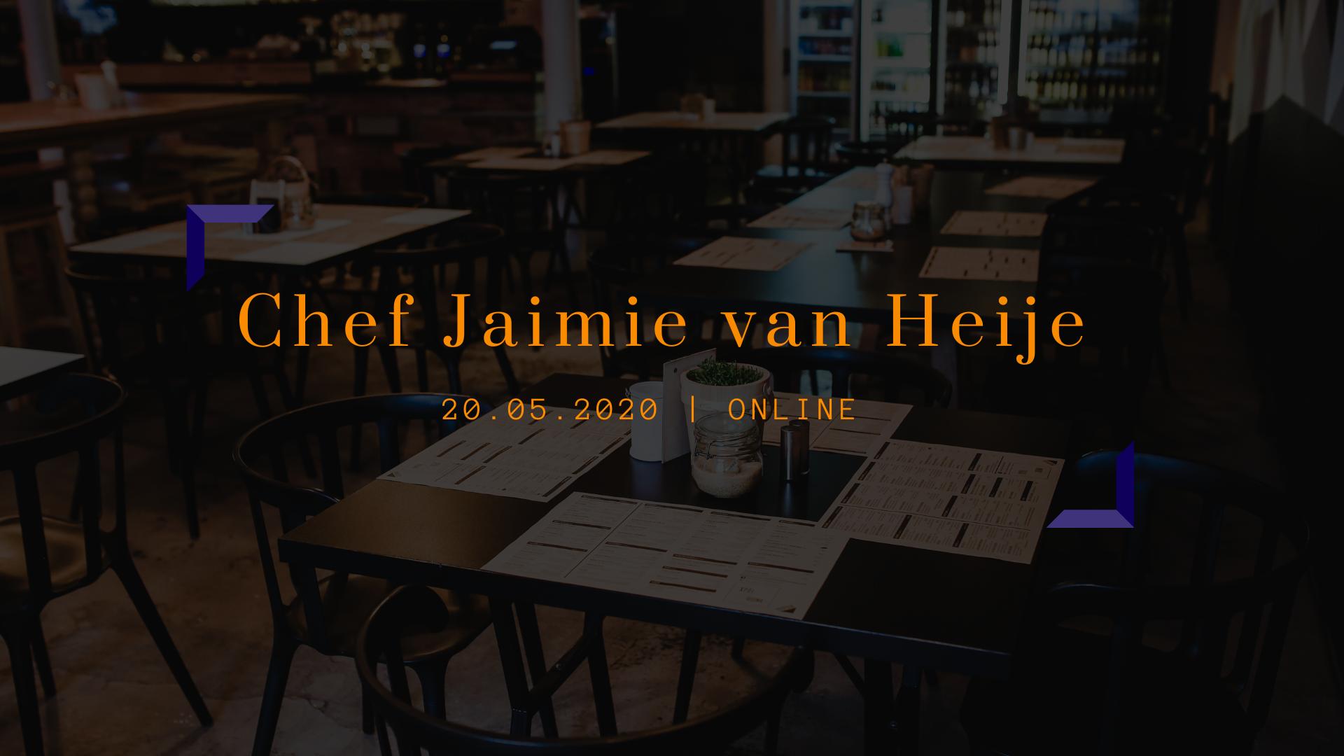 JCC's Social Chef   Jaimie van Heije