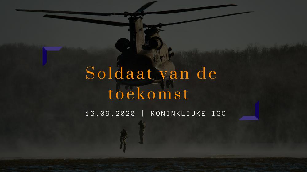 Defensie 2.0: Soldaat van de toekomst | Kelvin de Richemont, Senior Project Manager - Koninklijke Landmacht