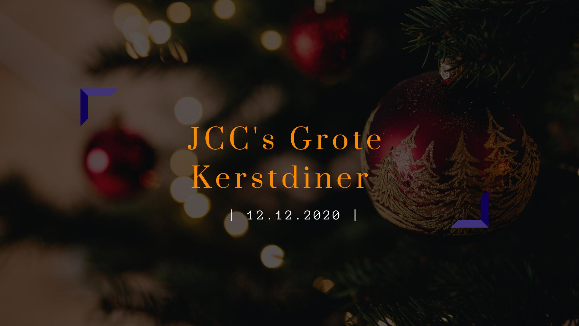JCC's grote kerstdiner